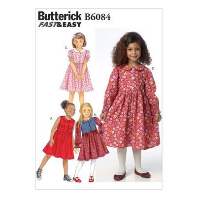 Mädchenkleid, BUTTERICK B6084