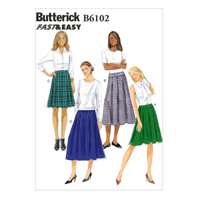 Rock, BUTTERICK B6102