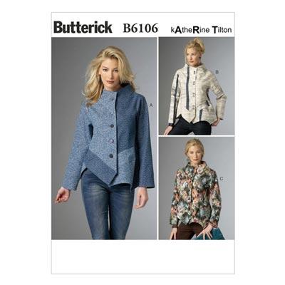 Jacke, BUTTERICK B6106