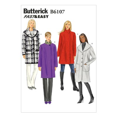 Mantel, BUTTERICK B6107