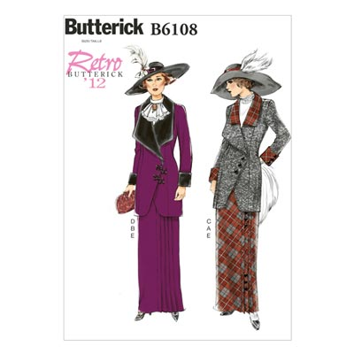 Jacke / Rock, BUTTERICK B6108