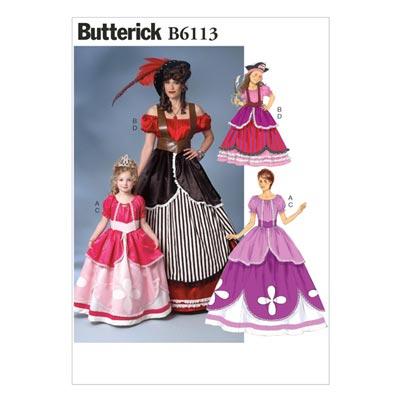 Kinder-Kostüm, BUTTERICK B6113