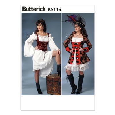 Kostüm,  BUTTERICK B6114