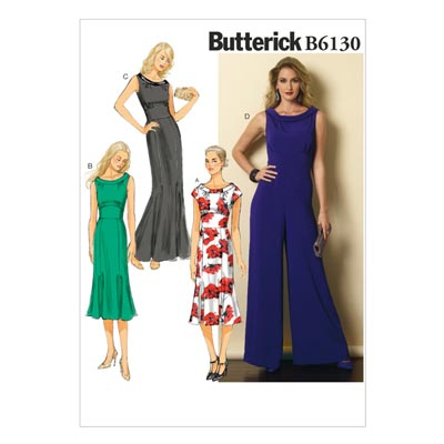 Kleid, Butterick 6130 | 32 - 40