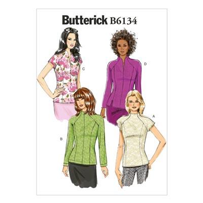 Top, Butterick 6134 | 32 - 40