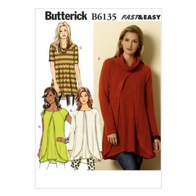 Pullover, Butterick 6135 | 32 - 40