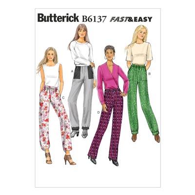 Hose, Butterick 6137 | 32 - 40