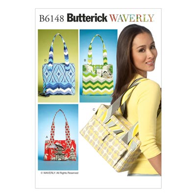 Taschen, Butterick 6148 | One Size