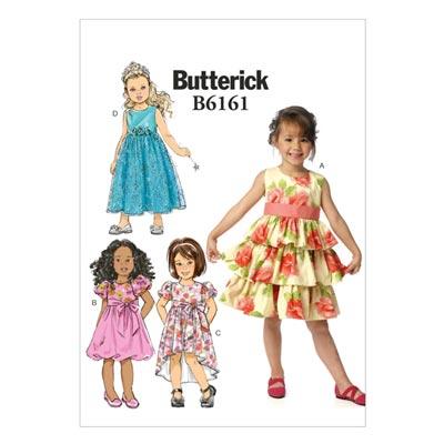 Kinderkleid, Butterick 6161 | 122 - 134