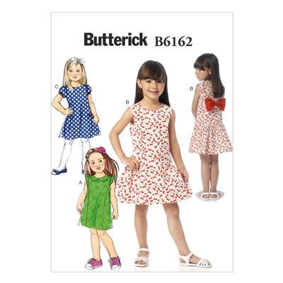 Kinderkleid, Butterick 6162 | 122 - 134