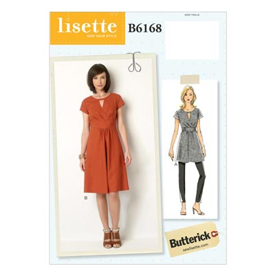 Kleid, Butterick 6168 | 32 - 40