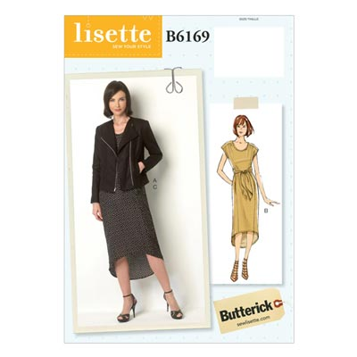Kleid, Butterick 6169 | 32 - 40