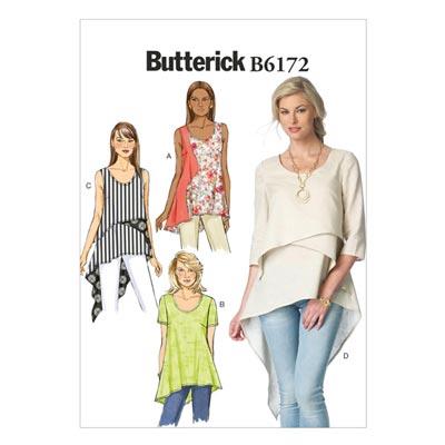 Top, Butterick 6172 | 32 - 40