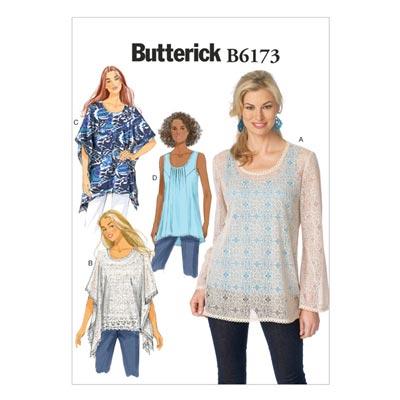 Top, Butterick 6173 | 40 - 48