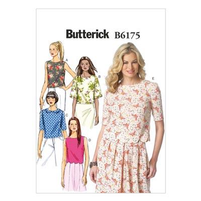 Top, Butterick 6175 | 32 - 40