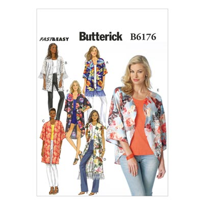 Cardigan, Butterick 6176 | 32 - 40
