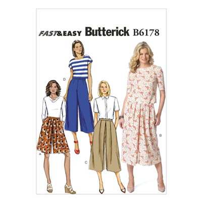 Rock, Butterick 6178 | 32 - 40