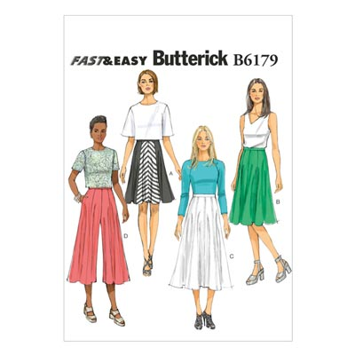 Rock, Butterick 6179 | 32 - 40