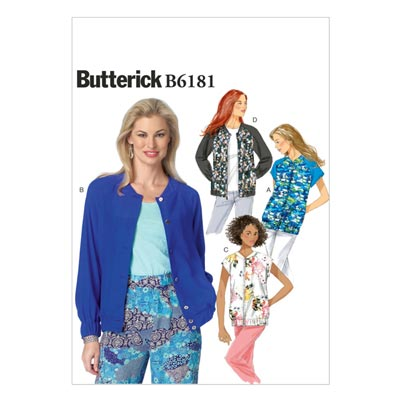 Jacke, Butterick 6181 | 32 - 40