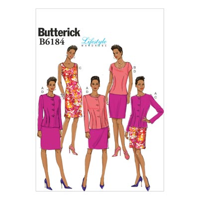 Jacke / Kleid, Butterick 6184 | 32 - 40