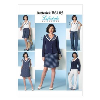 Jacke / Kleid, Butterick 6185 | 32 - 40