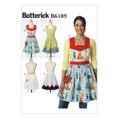 Schürze, Butterick 6189 | One Size