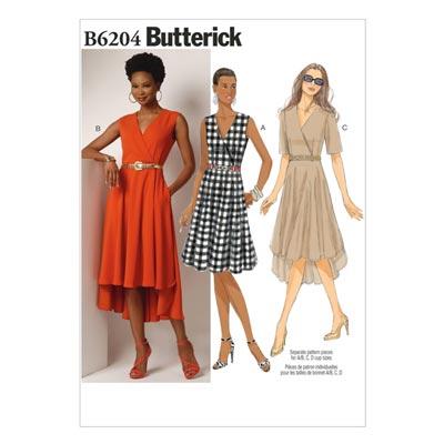 Kleid, Butterick 6204 | 32 - 40