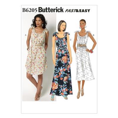 Kleid, Butterick 6205 | 32 - 40