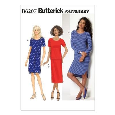 Kleid, Butterick 6207 | 32 - 40