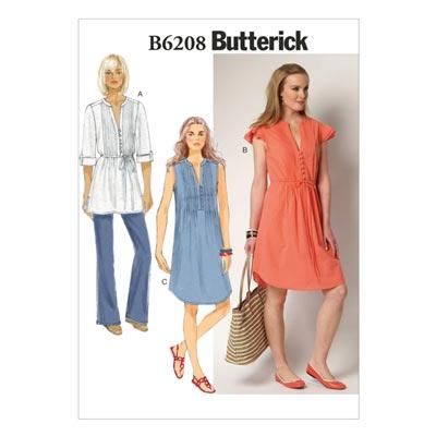 Kleid, Butterick 6208 | 40 - 48