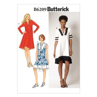 Kleid, Butterick 6209 | 32 - 40