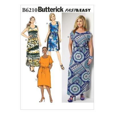 Kleid, Butterick 6210 | 44 - 50
