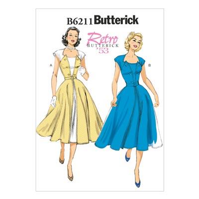 Vintage - Kleid 1953, Butterick 6211 | 32 - 40