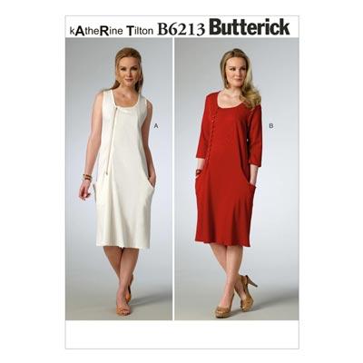 Kleid, Butterick 6213 | 42 - 50