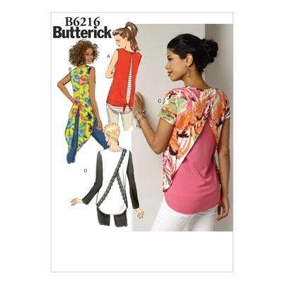 Top, Butterick 6216 | 32 - 40