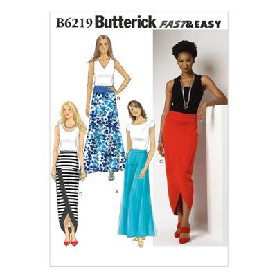 Rock, Butterick 6219 | 32 - 40