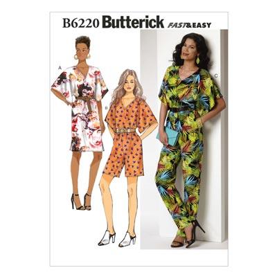 Kleid / Jumpsuit, Butterick 6220 | 32 - 40