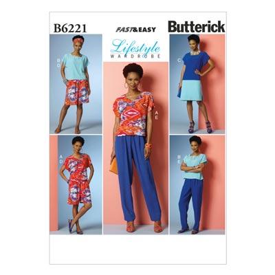 Kleid / Hose, Butterick 6221 | 32 - 40