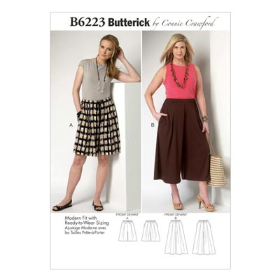 Plus Size - Hose, Butterick 6223 | 2XL - 6XL