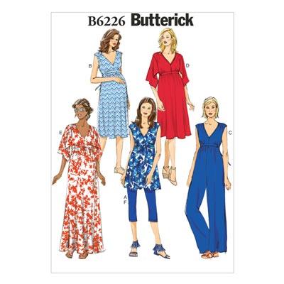 Umstandskleidung, Butterick 6226 | 40 - 48