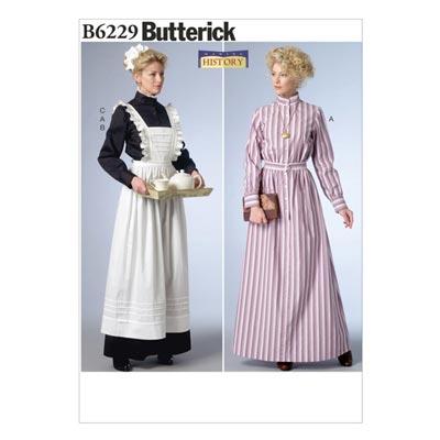 Historisches Kostüm, Butterick 6229 | 40 - 48