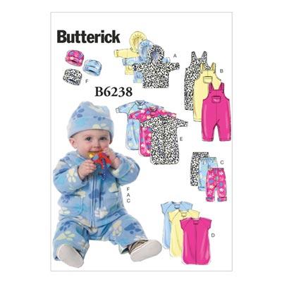 Babykleid/Strampler, Butterick 6238 | One Size