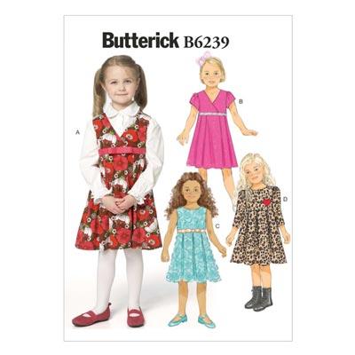 Kinderkleid, Butterick 6239 | 110 - 122