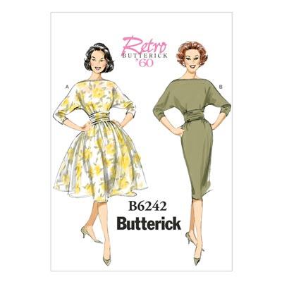 Vintage - Kleid 1960, Butterick 6242 | 32 - 40