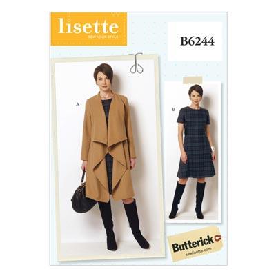 Mantel / Kleid, Butterick 6244 | 34 - 42