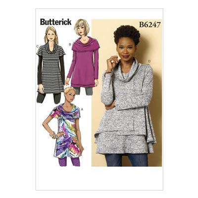 Top / Tunika, Butterick 6247 | 32 - 40