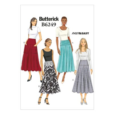 Rock, Butterick 6249 | 32 - 40