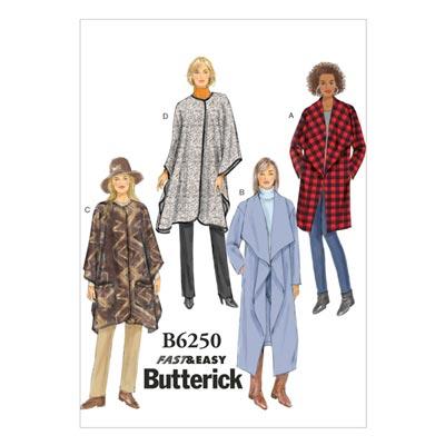 Jacke / Mantel, Butterick 6250 | 42 - 50
