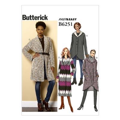 Jacke / Mantel, Butterick 6251 | 42 - 50