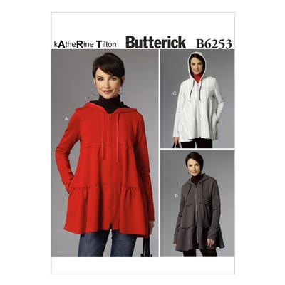 Kapuzenjacke, Butterick 6253 | 32 - 40
